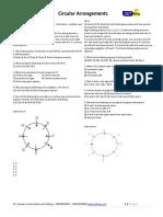 Circular Arrangement Handout Class