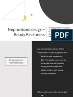 Nephrotoxic Drugs – Ready Reckoners