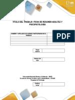 Compilado Final de La Ficha de Psicopatologia de La Adultez y La Vejez