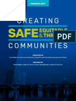 Creating Safe, Equitable & Thriving Communities