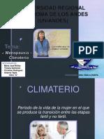 (6) Menopausia - Climaterio