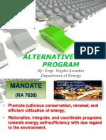 Alternative Fuels Presentation 2017