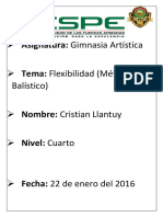 Planificación Flexibilidad-m.balístico Criollo Kevin