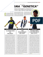 Chanchita Albornos sobre Bebelo Reynoso, Cristian Pavón y Fabio Álvarez.