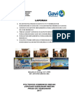Cover Laporan GAVI