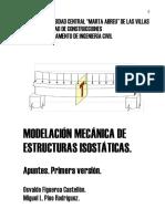 Libro. Modelac Mec de Estruct Isost. O. Figueróa y M. Pino.