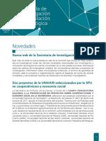 Nov 2017- Gacetilla de Investigación y Vinculación Tecnológica #9