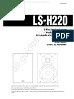 Teac Bookshelf Speakers - Lsh220