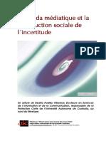 Construction Sociale Incertitude Medias