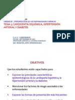 3.03. Cardiopatia isquémica, hipertensión arterial y diabetes