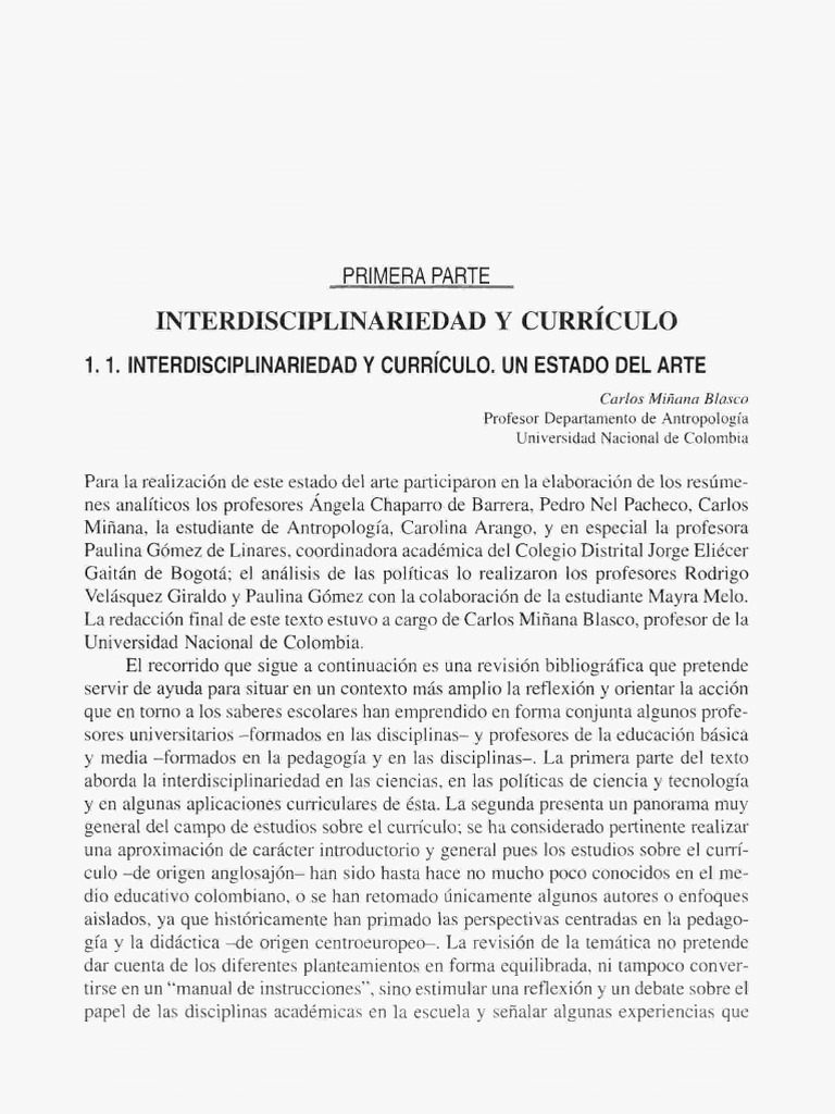 Interdisciplinariedad y currículo.pdf