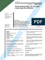 NBR 05285 - 1985 - Fios de AlumÝnio Liga N·s para Fins ElÚtr.pdf