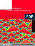 Synchronization an Universal Concept in Nonlinear Sciences