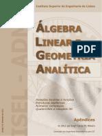 334-Algebra Linear e Geometria Analitica - Instituto de Eng de Lisboa