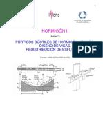 PÓRTICOS DÚCTILES DE HORMIGÓN ARMADO - DISEÑO DE VIGAS. REDISTRIBUCIÓN DE ESFUERZOS.pdf