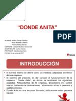 Presentación Donde Anita