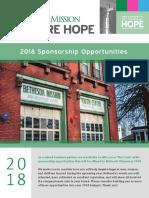bethesda mission 2018 sponsorship booklet - spread