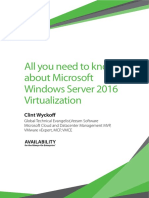 eBook Microsoft Windows Server Virtualization 2016