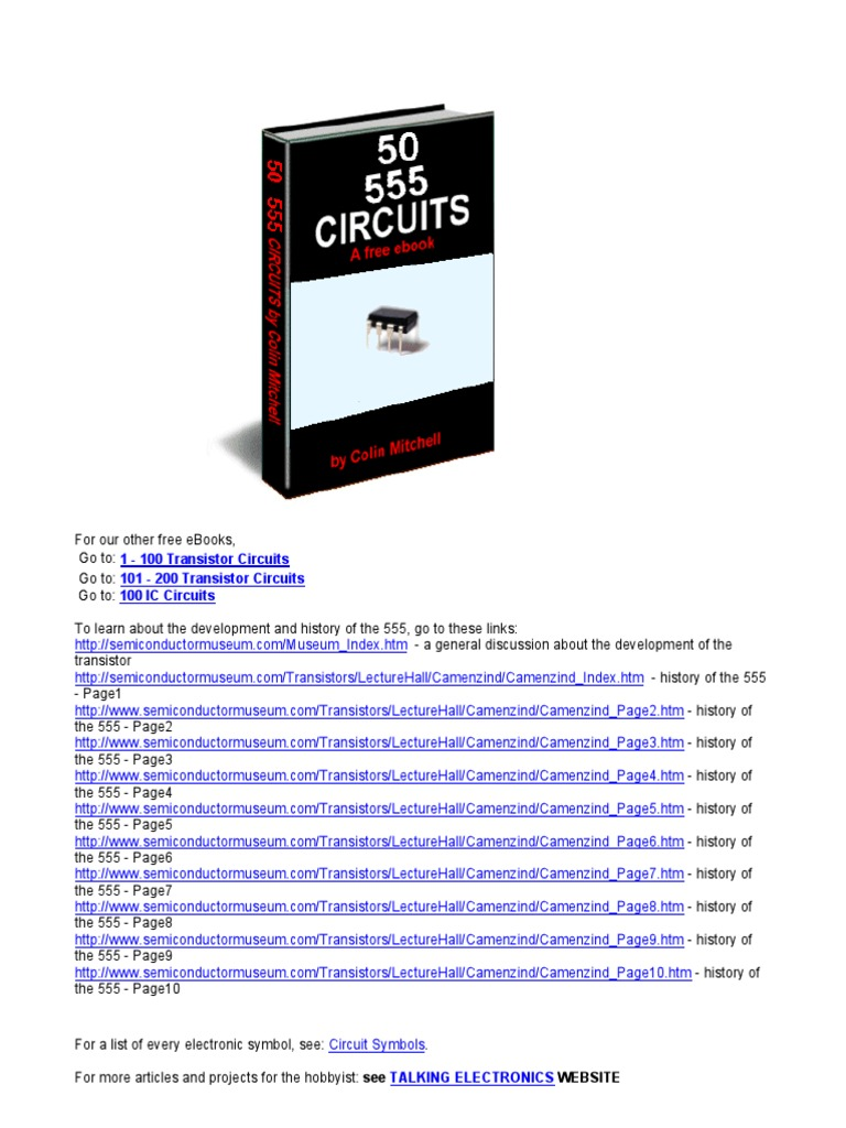 50 555circuits Digital Electronics Electronic Siren Circuit With Two Transistor Projects