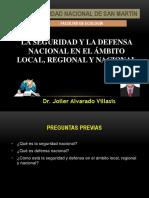 La Seguridad Nacional, Regional, Local