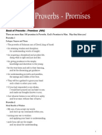 Book of Proverbs Promises