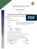 Informe de Liquidacion de Obra