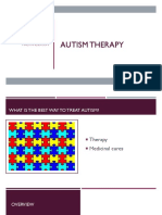 autism therapy presentation