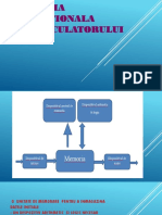 Schema funcțională a computerului