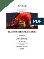 Muros Del Teatro Nacional