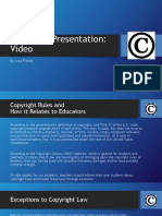 copyright presentation video