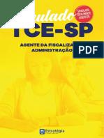 Tce-sp Agente Fiscalizacao Administracao