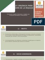 Proyecto de Ley OrgÁnica Para La RedistribuciÓn de Riqueza (1)