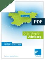 Ortsfahrplan Adelberg