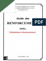 Méthodologie de Dimensionnement