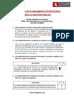 Examen 7 - Planeamiento Estrategico