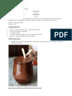 Milkshake de Ciocolata Vegan