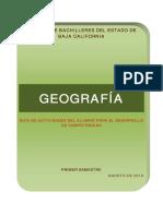 Cuaderno de Trabajo Geografia