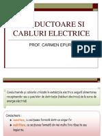 Conductoare Si Cabluri Electrice