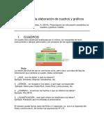Guía de Elaboración de Cuadros y Gráficos