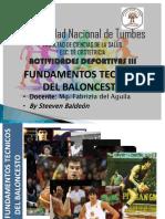 Fundamentos Técnicos Del Baloncesto1