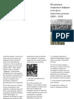 Movimientos Campesinos Indígenas en La Época Aristocrática Peruana