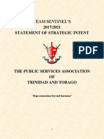 1 PDF FINAL Team Sentinel 2017-2021 Statement of Strategic Intent