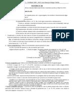ROTEIRO N.° 06 - direito civil parte geral 2009