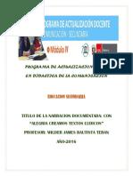 Programa de Actualizacion Docente en Didactica de La Comunicación