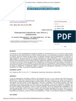 Osteogénesis Imperfecta_ Caso Clínico y Actualización