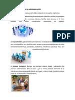 Características de La Administración