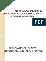 Management Airway & Breathing