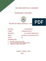 Trabajo 01 Desarrollo Organizacional