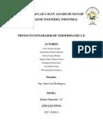 Informe Termo II
