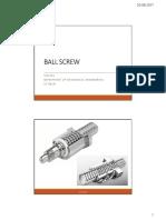 9 Slides Ballscrew
